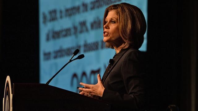 Nancy Brown Keynote Highlights Opening Day of SEC Symposium