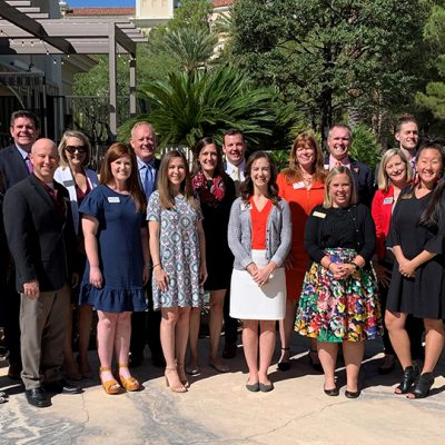 SEC admissions and enrollment professionals from each member university following the successful 2019 Fall SEC College Tour in the Southwest.