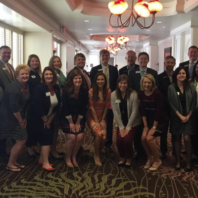 SEC admissions representatives pose for a picture following the 2017 Spring SEC College Tour in Southern California.