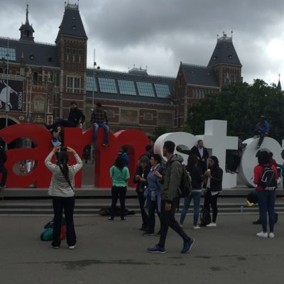 SEC students tour Amsterdam during the summer of 2016.