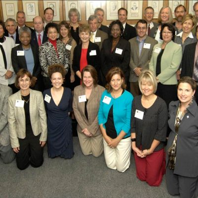 The first SEC Academic Leadership Development Program cohort met in October 2008 at the University of South Carolina.