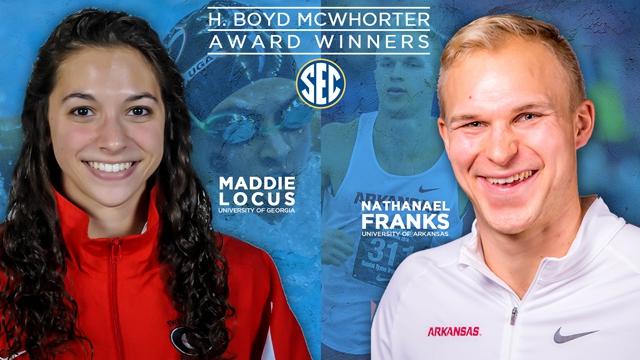 Franks, Locus Named McWhorter Award Winners