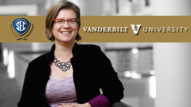 Dr. Isabel Gauthier from Vanderbilt University was named the 2015 SEC Professor of the Year on Wednesday