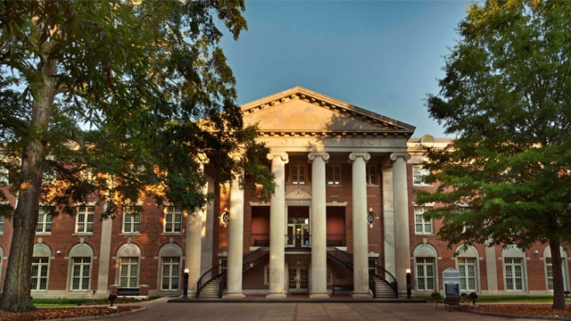 UA's Bidgood Hall, home of the Culverhouse College of Commerce, will host the 2014 SEC MBA Case Competition