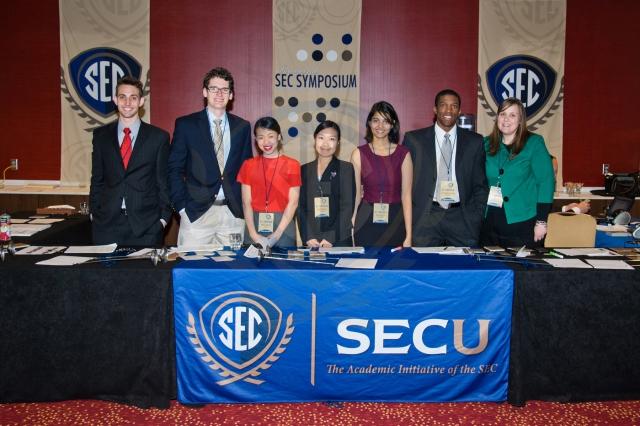 Ambassadors Serve Symbiotic Relationship With SEC Symposium