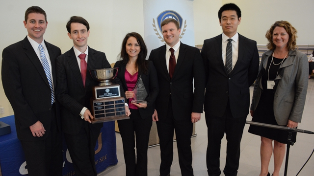 Florida Wins 2015 SEC MBA Case Competition