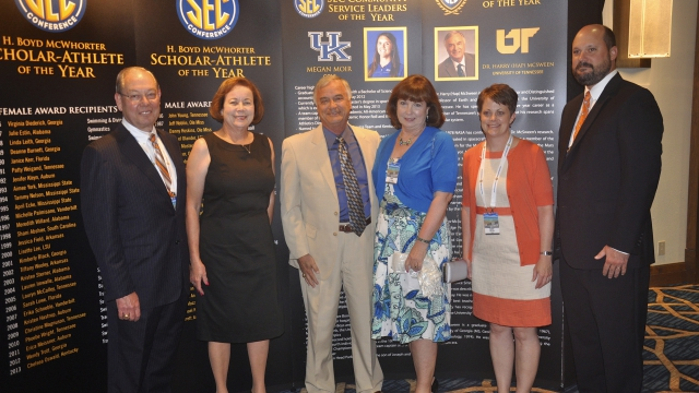 Southeastern Conference Announces 2013 SEC Faculty Achievement Award Recipients