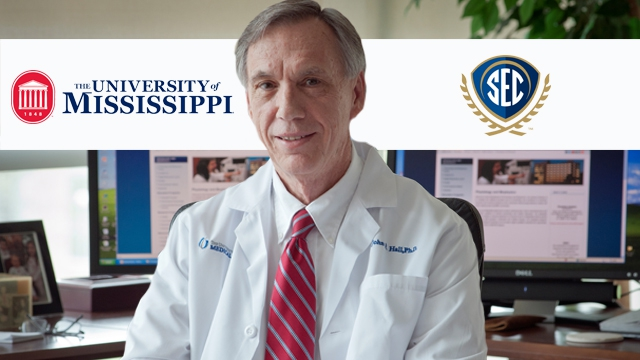 University of Mississippi's John Hall Named 2014 SEC Professor of the Year