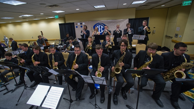 SEC student musicians perform during the SEC Presidents, Chancellors and Provosts Reception
