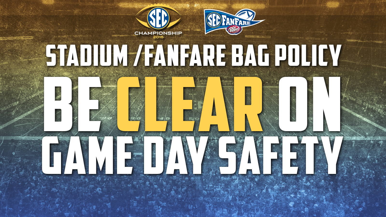SEC Enhances Security at Football Championship Weekend