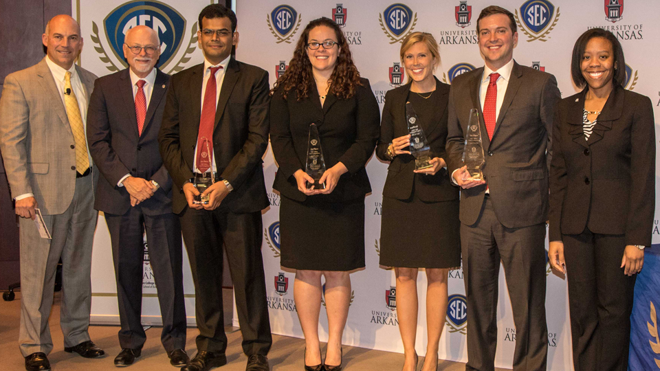 University of Alabama Wins 2016 SEC MBA Case Competition