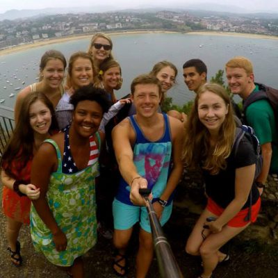 SEC students enjoy the coast of Spain during their semester abroad.