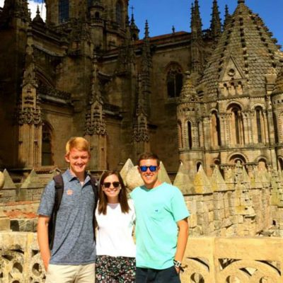 SEC students take in all of the historical sites Spain has to offer.