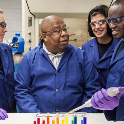 Dr. Isiah Warner, LSU Boyd Professor, Phillip W. West Professor of Analytical and Environmental Chemistry and Howard Hughes Medical Institute Professor at Louisiana State University, is the 2016 SEC Professor of the Year.