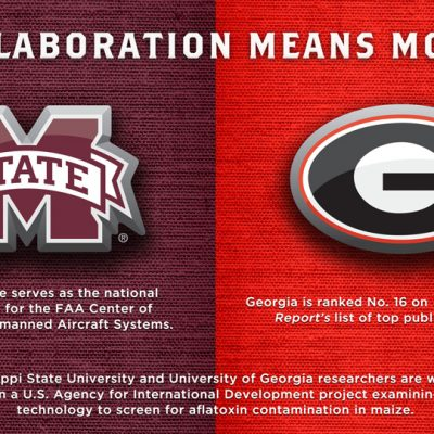 SEC university collaborative efforts between Mississippi State and Georgia.