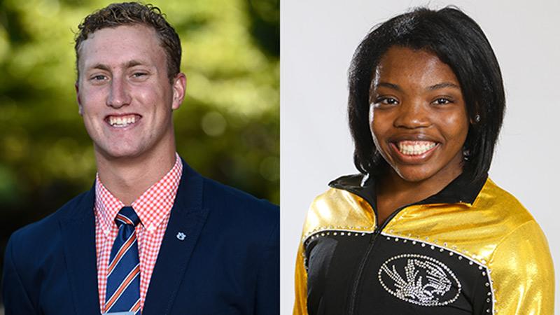 Auburn's Schenk, Missouri's Harris To Represent SEC At NCAA Leadership Forum