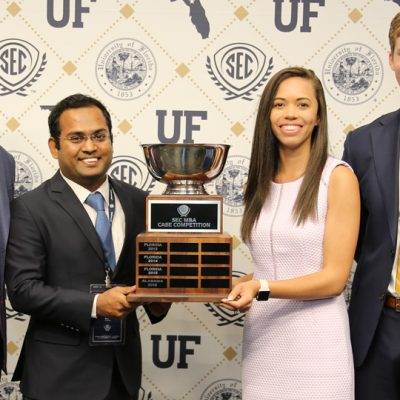 The University of Georgia won the 2017 SEC MBA Case Competition.