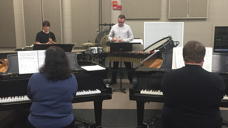 Musicians Provide Rare Performance During SEC Faculty Travel Visit