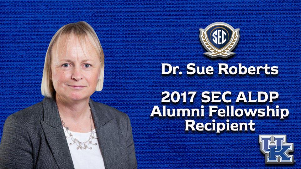 Kentucky's Sue Roberts Receives SEC ALDP Alumni Fellowship