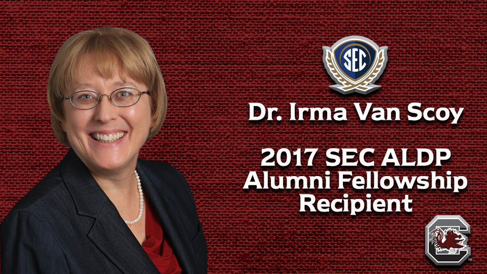 South Carolina's Irma Van Scoy Wins SEC ALDP Alumni Fellowship