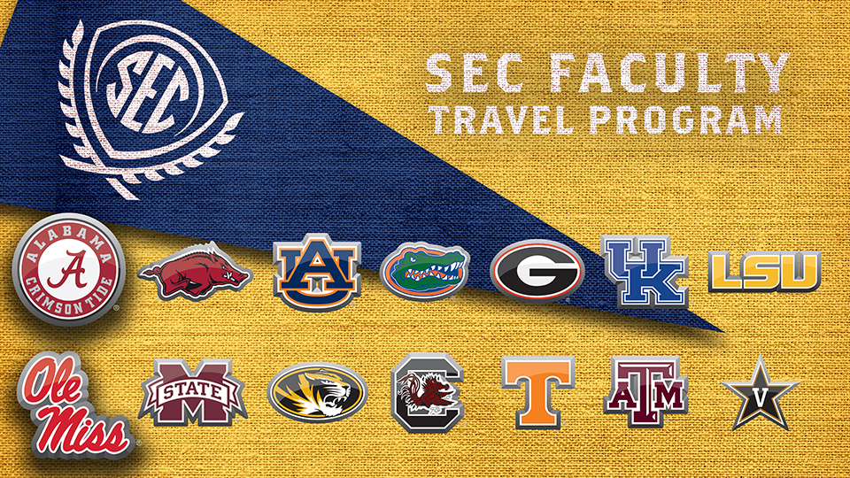 Dr. Loveall-Hague's and Dr. Conners' visits were supported by the SEC Faculty Travel Program, which is administered by SECU, the academic initiative of the Southeastern Conference.
