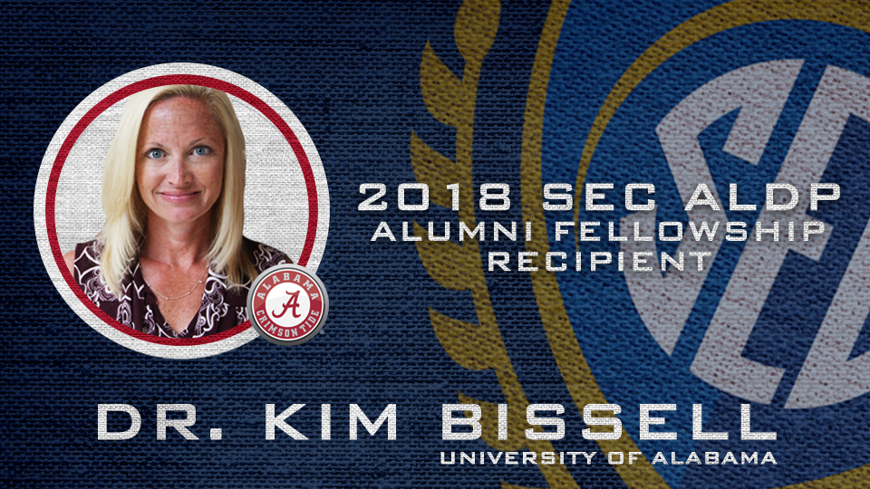 Alabama's Bissell second recipient of SEC ALDP Alumni Fellowship