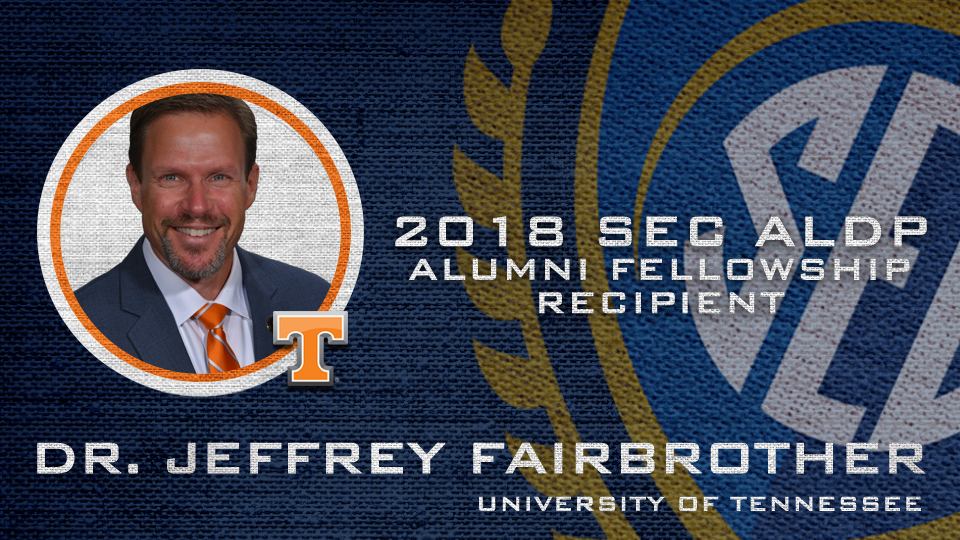 Dr. Jeffrey Fairbrother is associate dean for academic and faculty affairs at the University of Tennessee and professor of kinesiology.