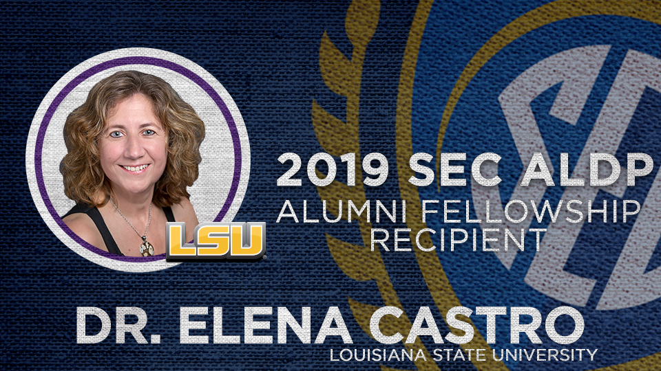 Dr. Elena Castro to receive SEC ALDP Alumni Fellowship