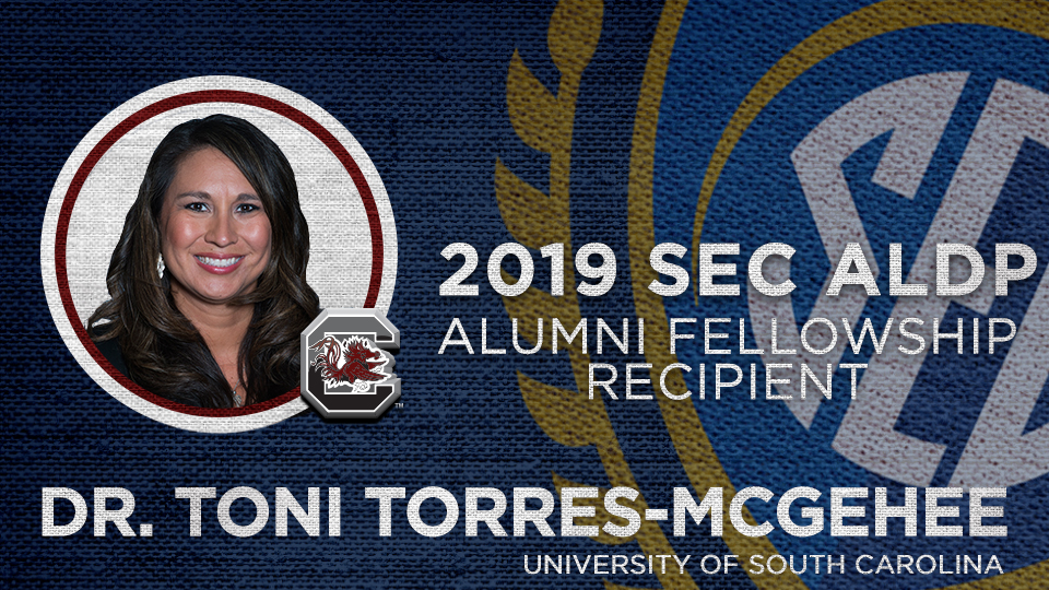 Dr. Toni M. Torres-McGehee to receive SEC ALDP Alumni Fellowship