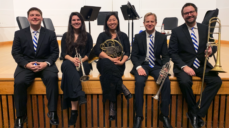 Kentucky Brass Quintet Begins SEC Performance Circuit