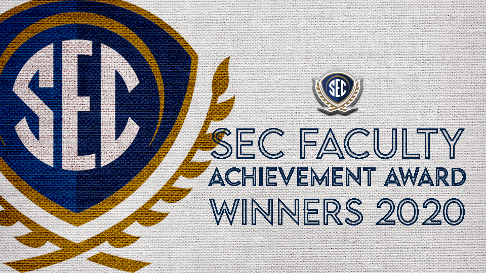 2020 SEC Faculty Achievement Awards to be Announced Soon