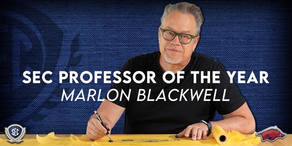 Marlon Blackwell, 2020 SEC Professor of the Year