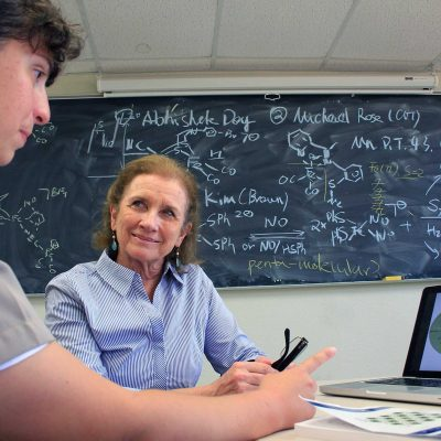 Dr. Marcetta Darensbourg, Distinguished Professor of Chemistry at Texas A&M University, won the 2018 SEC Professor of the Year award.