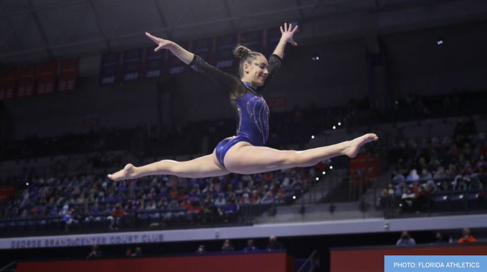 Clapper Named Gymnastics Scholar-Athlete of the Year