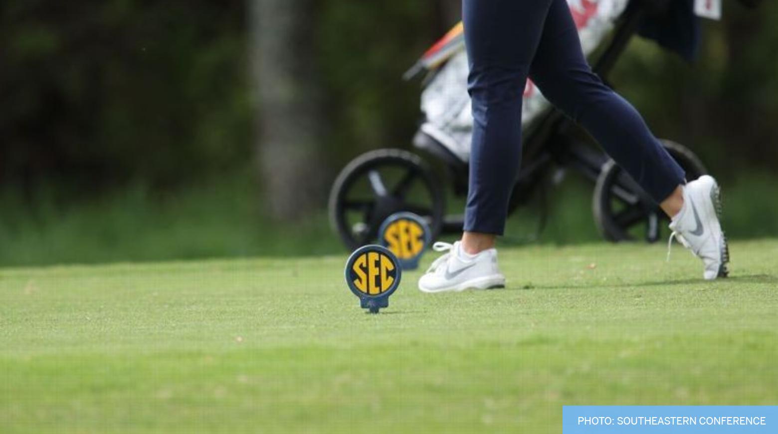 2021 SEC Women's Golf Community Service Team Announced