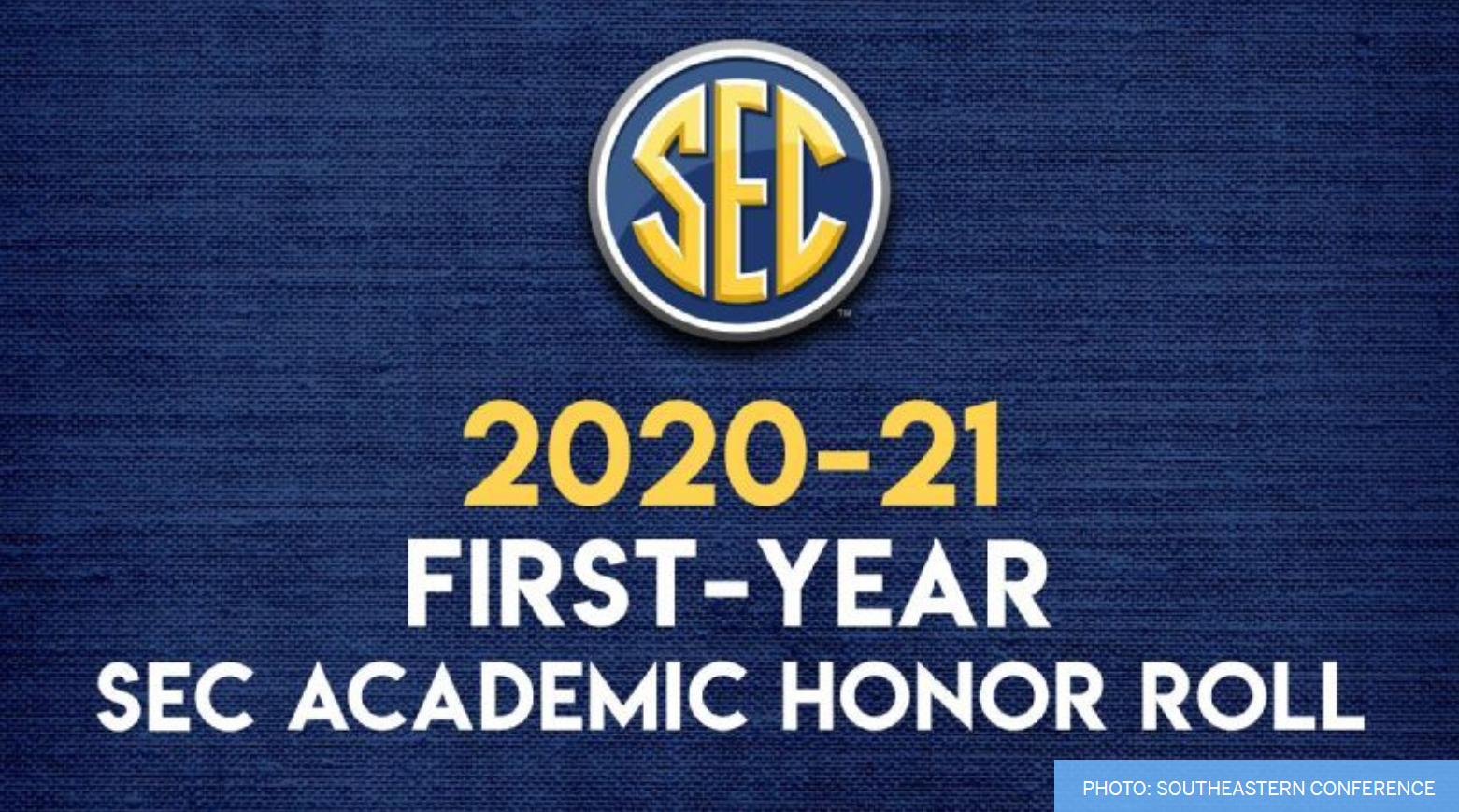 2020-21 First-Year SEC Academic Honor Roll