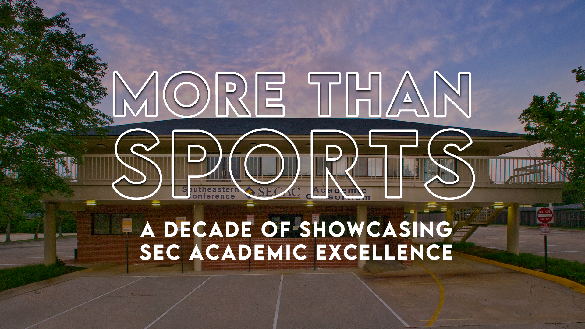 MORE Than Sports: A Decade of Showcasing SEC Academic Excellence
